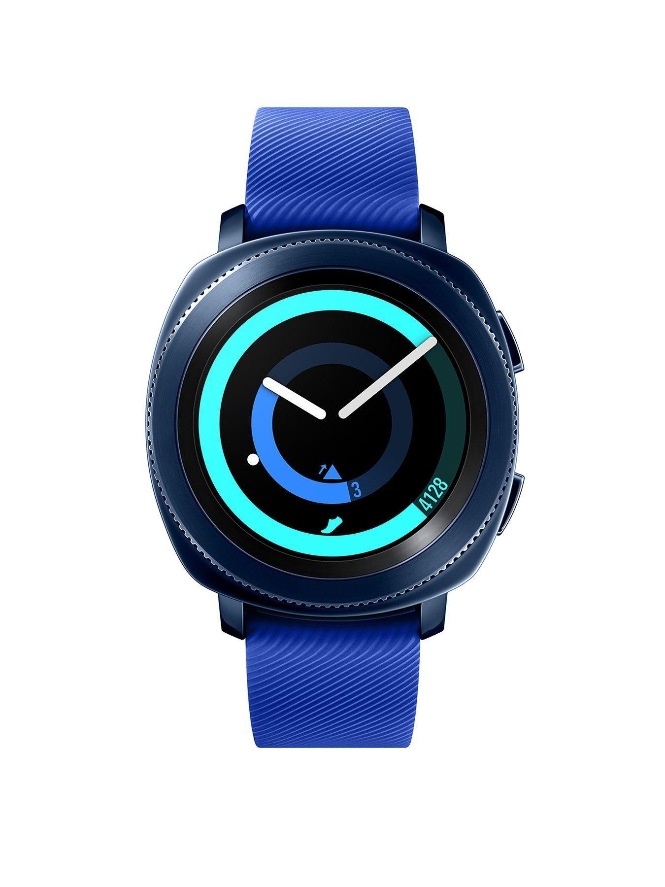 Samsung Gear Sport Blue with Free AKG Y50BT Bluetooth