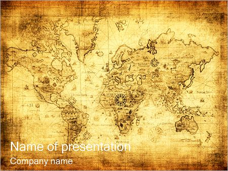 Old map powerpoint templates school prep pinterest template old map powerpoint templates gumiabroncs Gallery