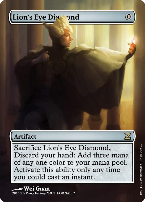 Lion's Eye Diamond, zeerbe, proxy, digital render, Z's