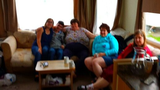 Me and friends on holiday at