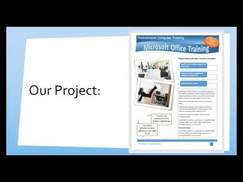 create a professional looking flyer in microsoft word tutorials