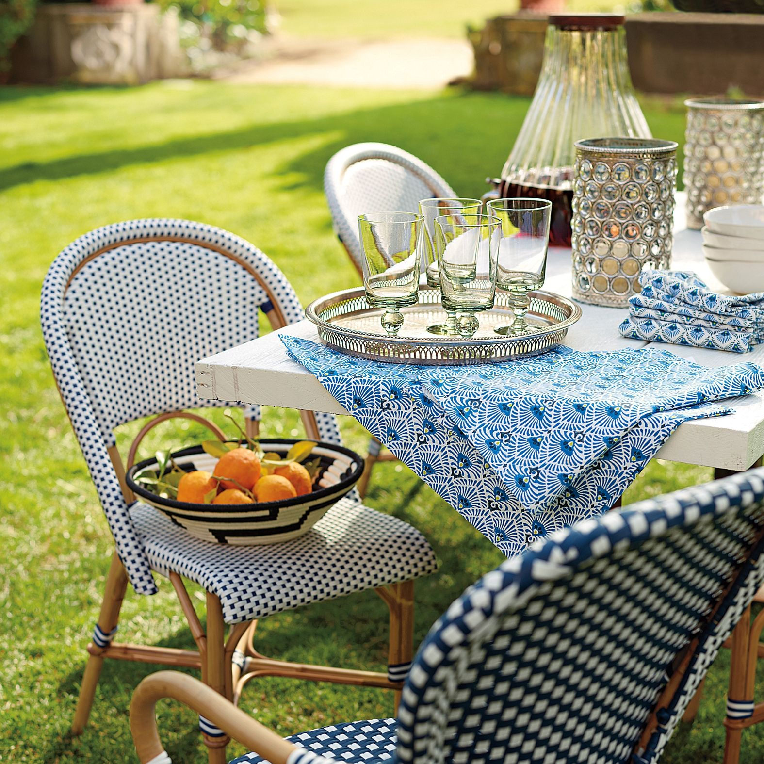 Riviera Side Chair Serena Amp Lily Outdoor Dining Chairs Bistro Beach House