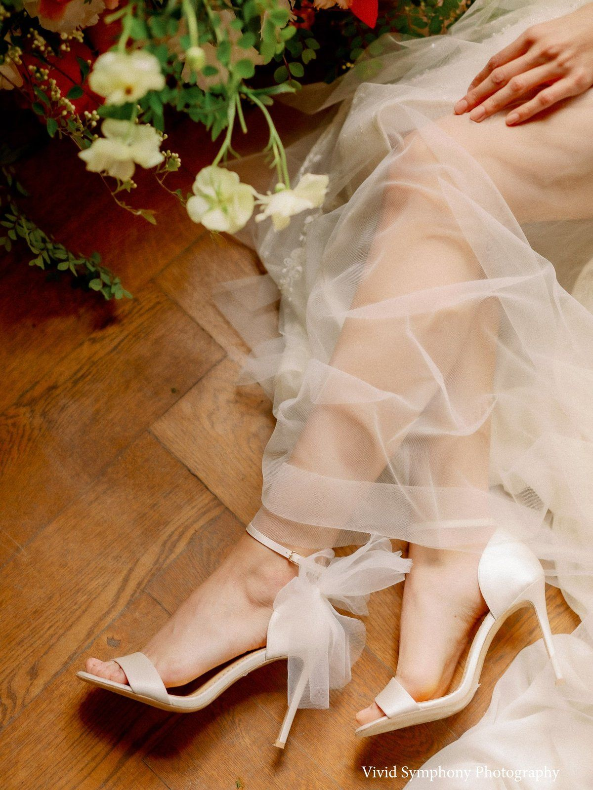 Ivory Wedding Shoes With Bow Tulle Ivory Wedding Shoes Wedding Heels Wedding Shoes Lace