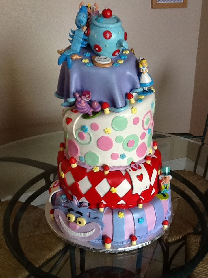 Alice In Wonderland Baby Shower Love Love Love For Baby Bethea