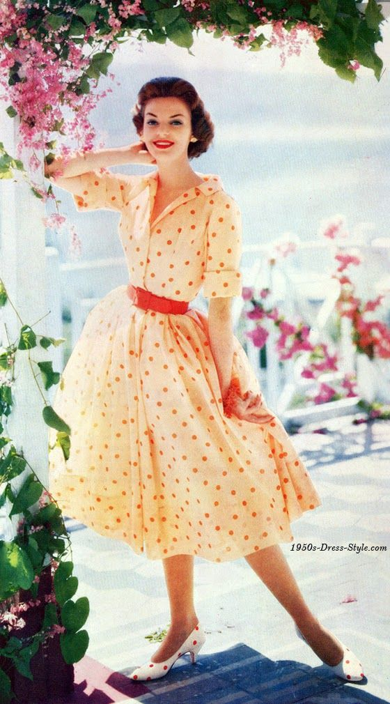 62f87b244605 Givenchy worn by Suzy Parker - Orlon 1954 Vogue - 1950s Fashion Vintage  Knitting by Columbia Vogue - 1955 1951 -.