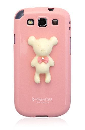 Alice Pastel Special Honey Bear Galaxy S3 Case - Pink *Clearance
