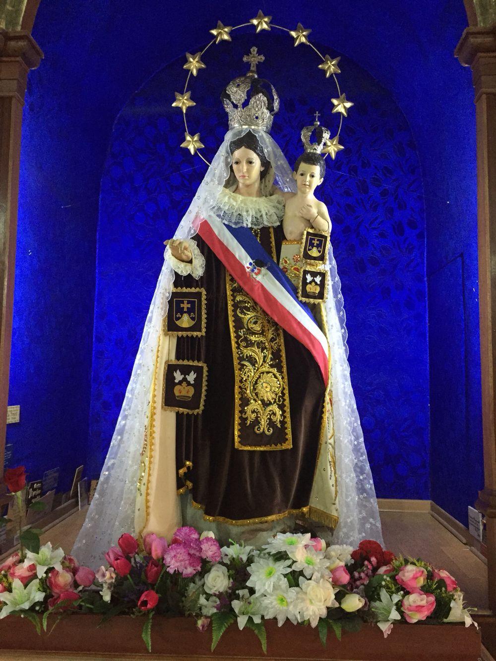 """Virgen de La Tirana, """"Chinita del Carmen"""". Región de Tarapacá"""