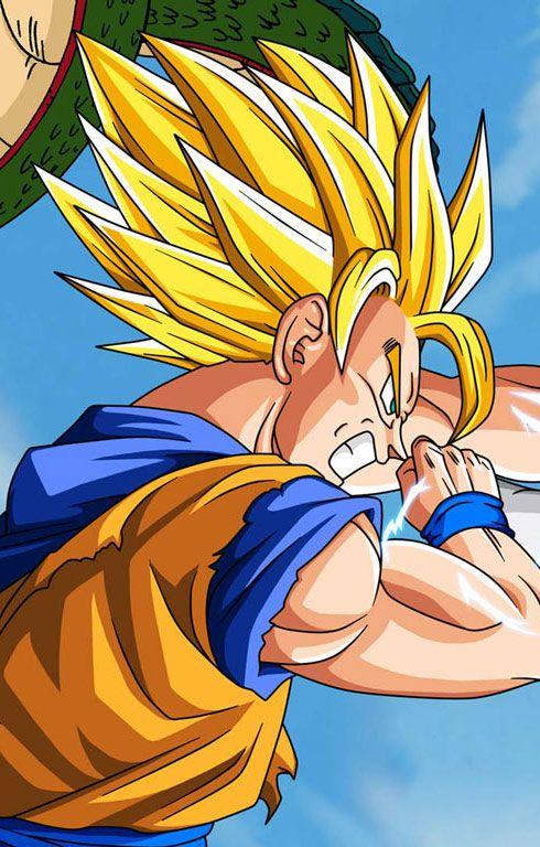 #dragonballz wallpapers | Vegeta VS Goku | http://www.fabuloussavers.com/dragon-ball-z-wallpapers.shtml