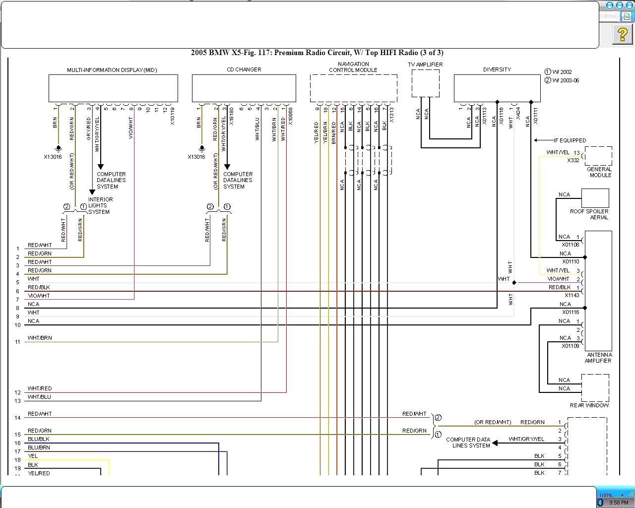 Wds Bmw Wiring Diagram System X5 E53