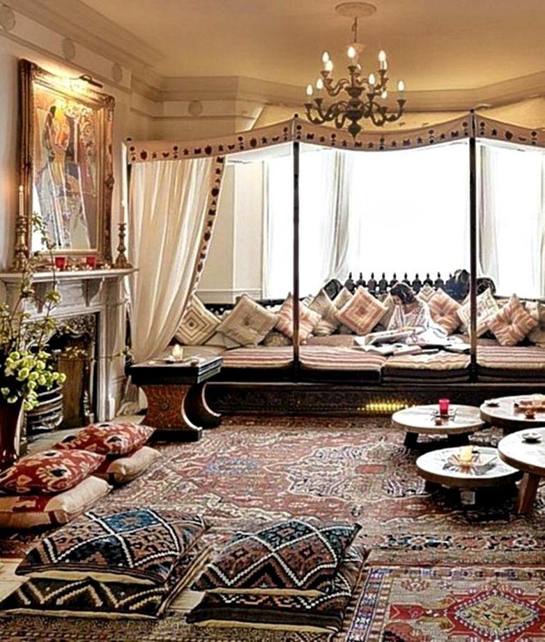 Moroccan inspired decor | Boho living room, Bohemian living ...