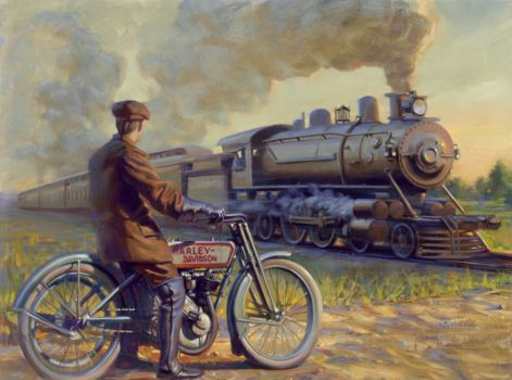 """Iron Horse Junction"" (35 pieces)"