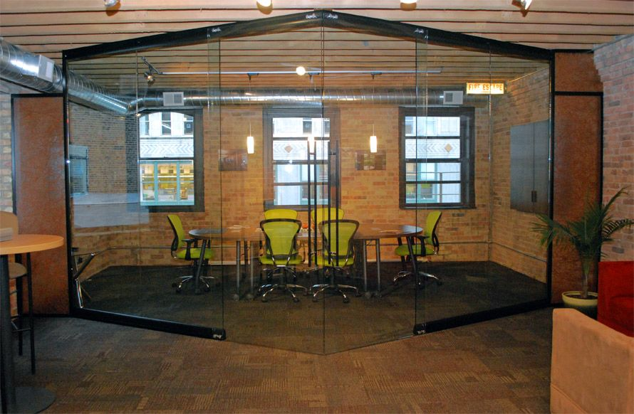 Nxtwall Field Fit View Series Conference Room With Double Sliding