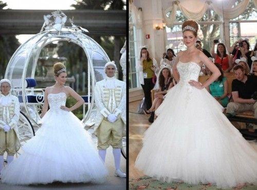 Vestido de novia inspirado en Cenicienta - Foto Alfred Angelo ...
