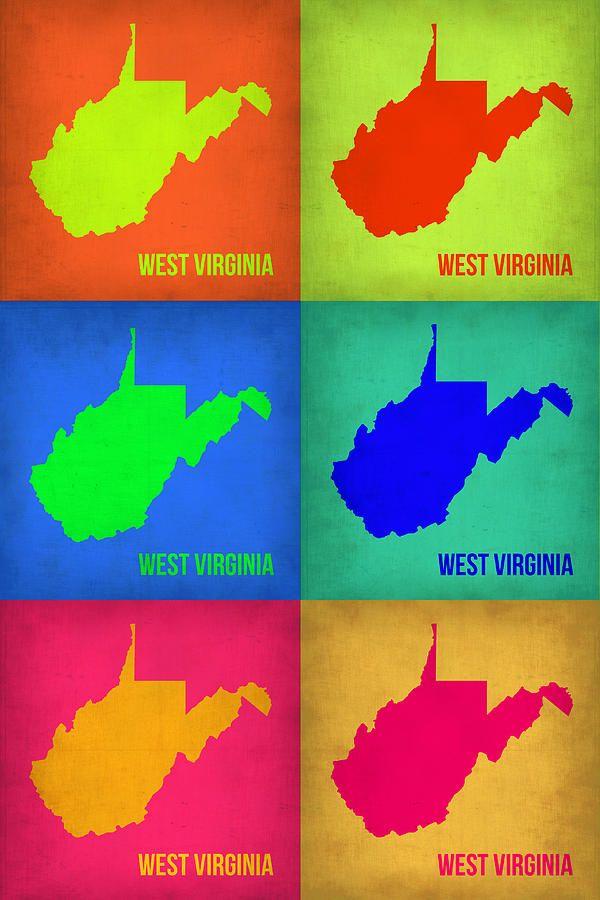 West Virginia Pop Art WV Proud Pinterest