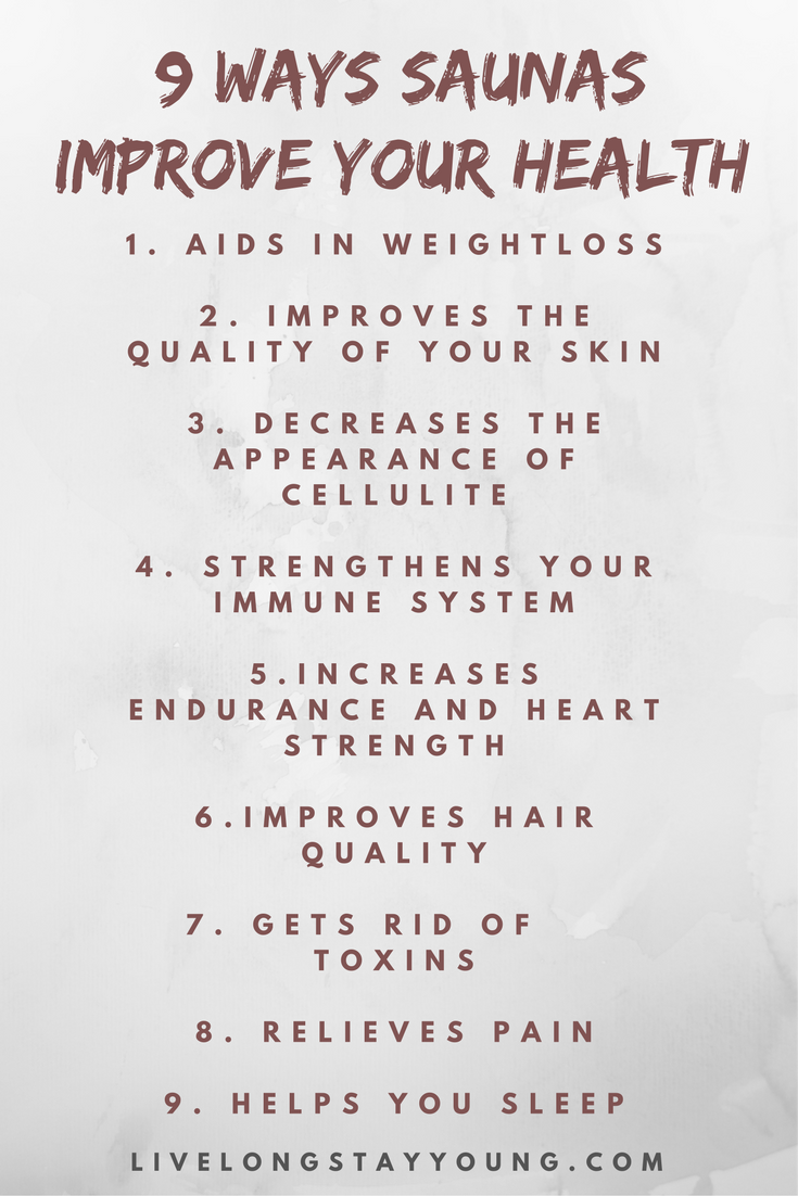 9 Sauna Benefits You May Not Have Known Sauna Benefits Benefits Of Sweating Steam Room Benefits