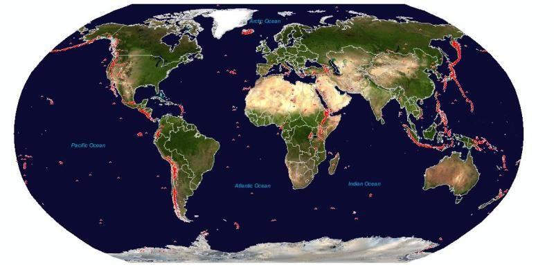Volcanoes around the world C1 Wks 1617  CC Cycle 1