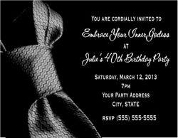 50 Shades Of Grey Invitation 50 Shades Party 50 Shades