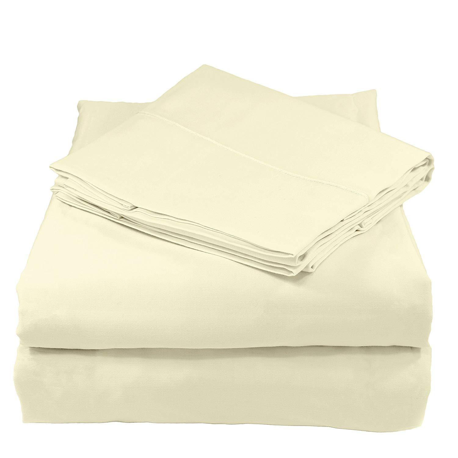 100/% Pure Egyptian Cotton 400 /& 500 Thread Count Luxury Fitted Sheets All Sizes