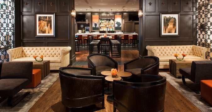Hilton Dallas Park Cities Hotel Dallas Tx Lobby Lounge Bar Lounge Interior Lounge Interiors Hotel Room Interior
