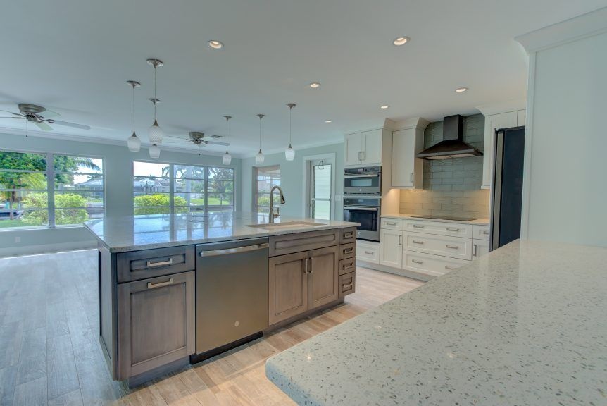 Countertops U2013 Curava Recycled Glass Surfaces U2013 Savaii Avalon Remodel   Cabinet  Genies   Kitchen And Bathroom Remodeling   Cape Coral, FL