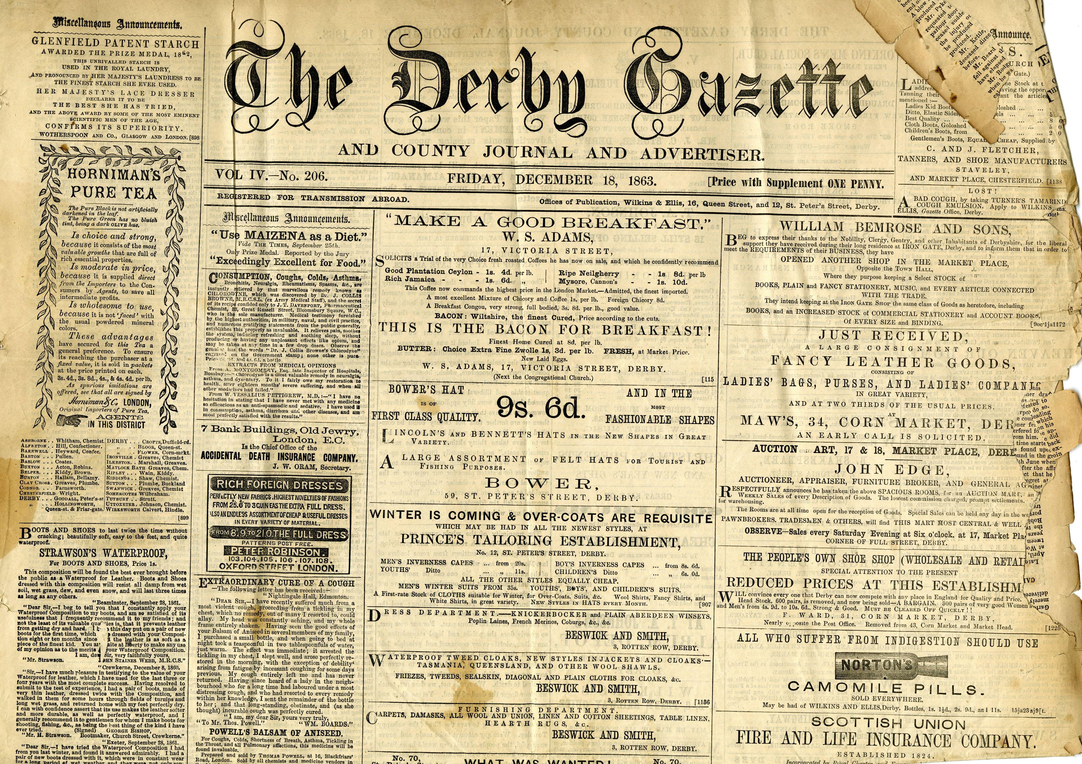 newspaper texture background