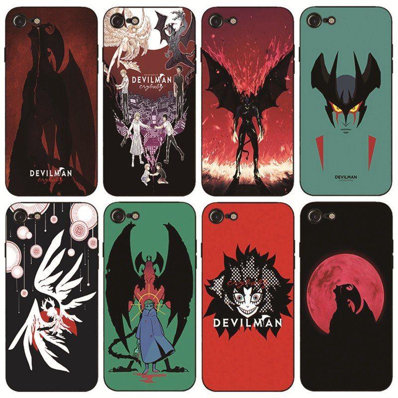coque iphone 8 devilman crybaby