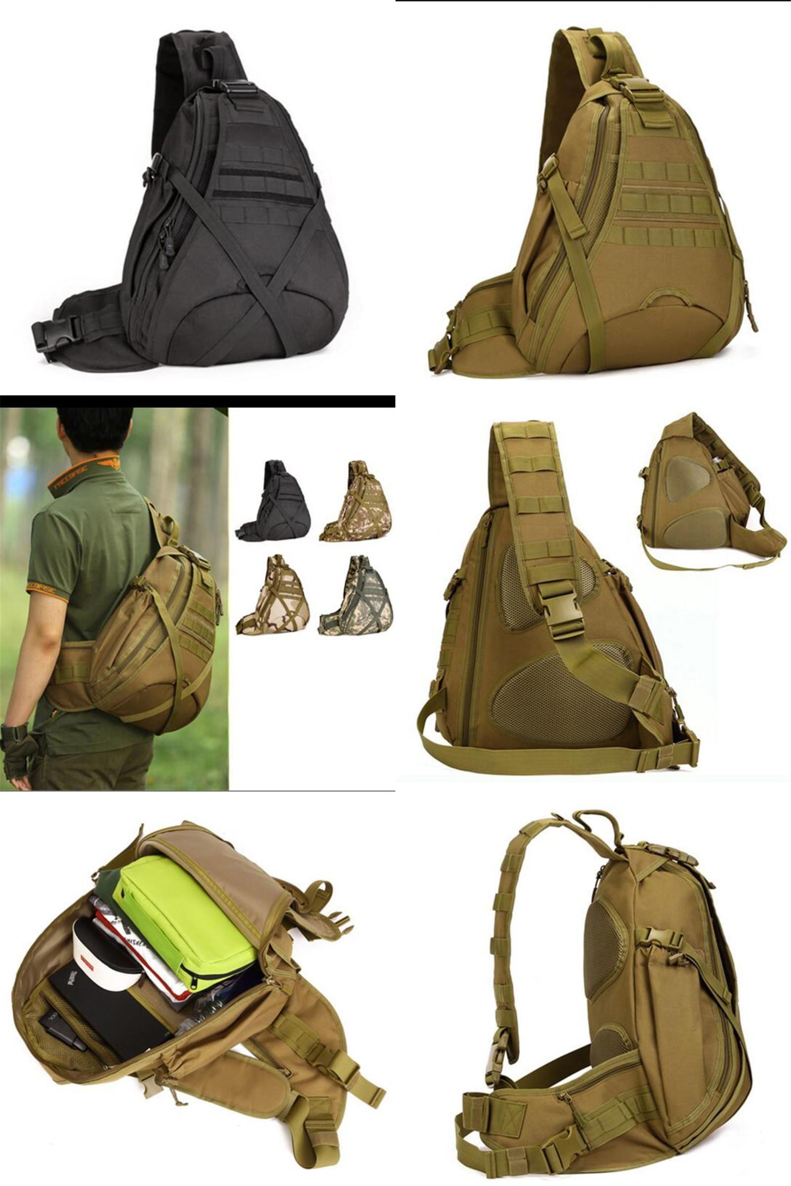 Visit to Buy  Men s bags large capacity travel one shoulder backpack  freelander side bags a8857e558d