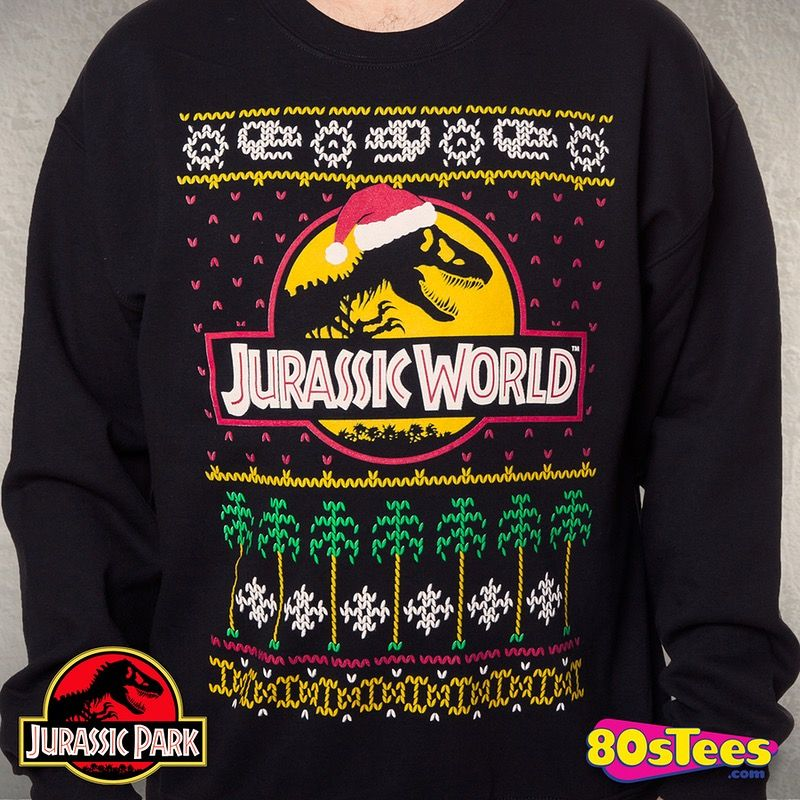 Licensed Adult Long Sleeve T-Shirt S-3XL Jurassic Park Movie CLEVER GIRL
