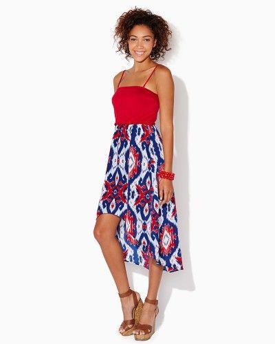 Festival Ikat High-Low Dress | Apparel | charming charlie