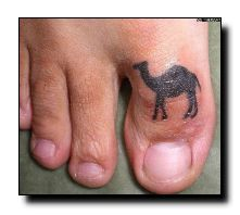 small tattoo design Gross but funny