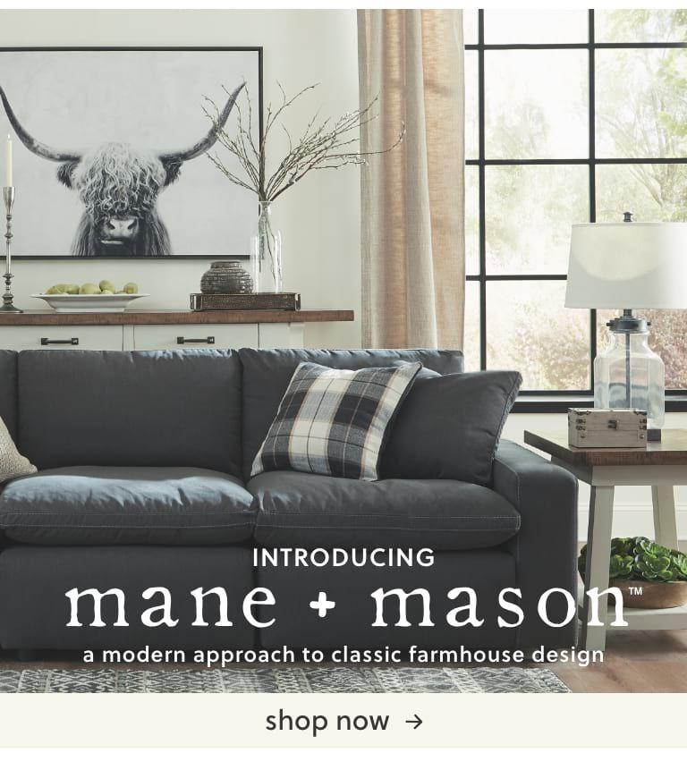 Mane And Mason Ashley Furniture Living Room Living Room Redo Farm House Living Room