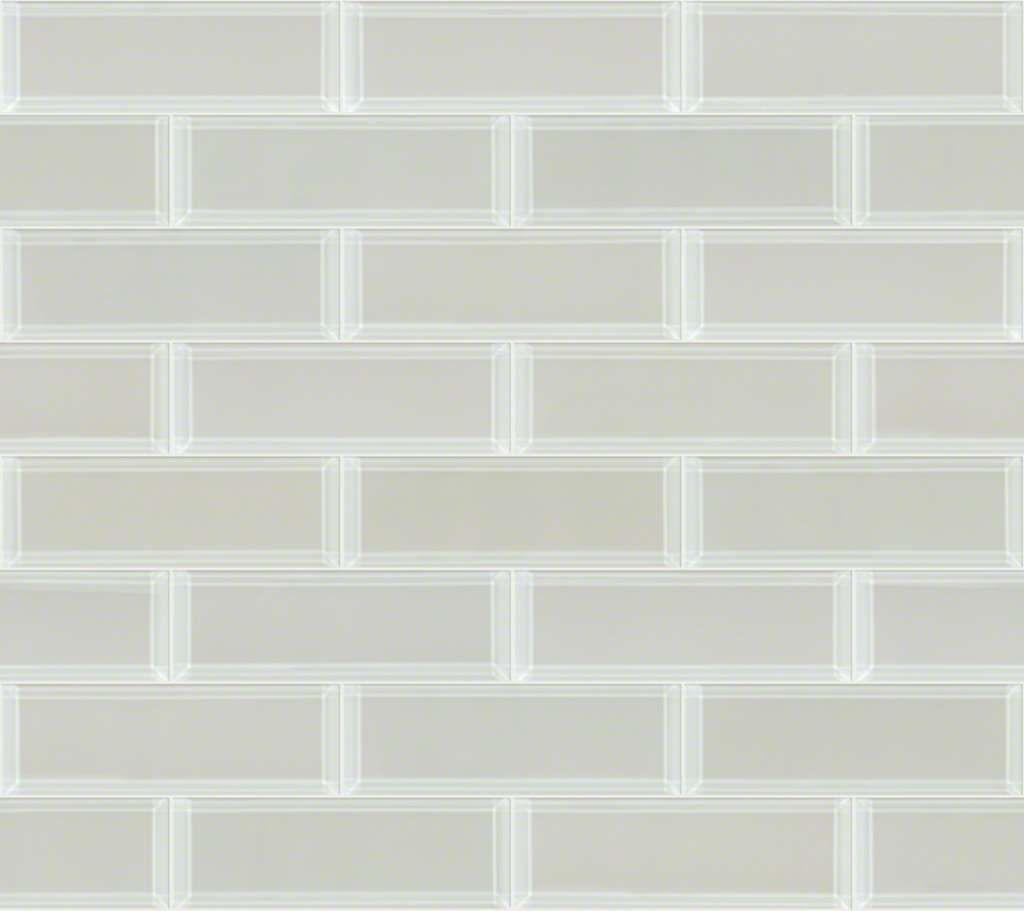 Paramount 3x9 Beveled Glass Mist Sa21a 00250 Ceramics Sample Shaw Floors Beveled Glass Shaw Floors Stone Flooring