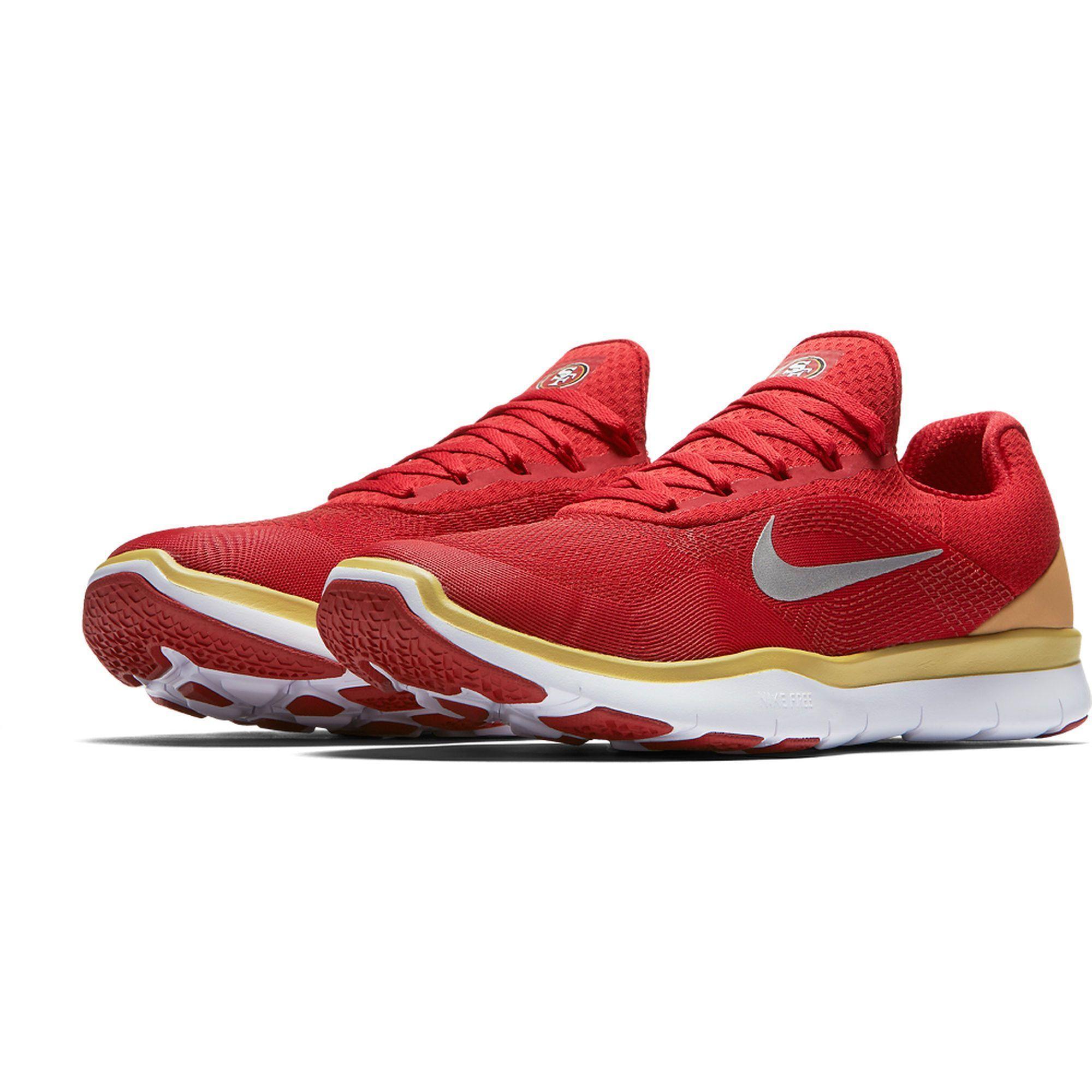 a6ceb3a844 San Francisco 49ers Nike NFL Free Trainer V7 Week Zero Shoes | Nike ...