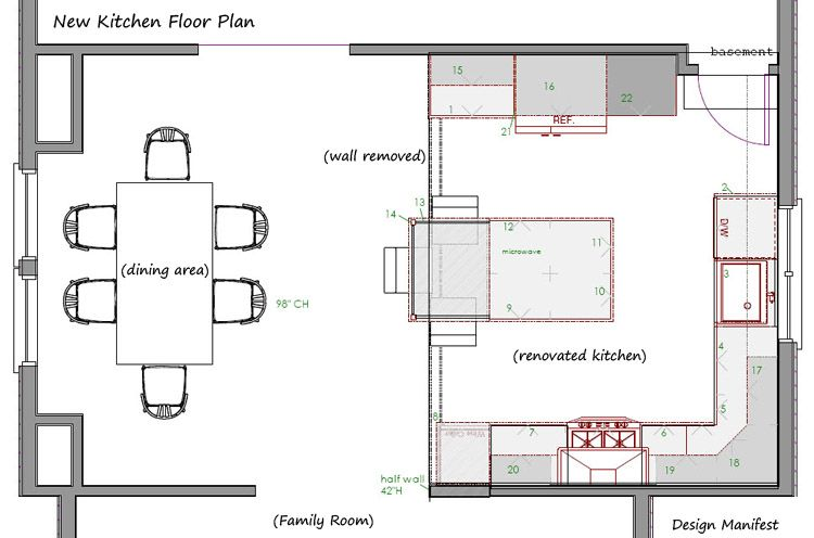 13 x 18 kitchen layout recherche google design et fabrication pf pinterest kitchen layouts layout and kitchens