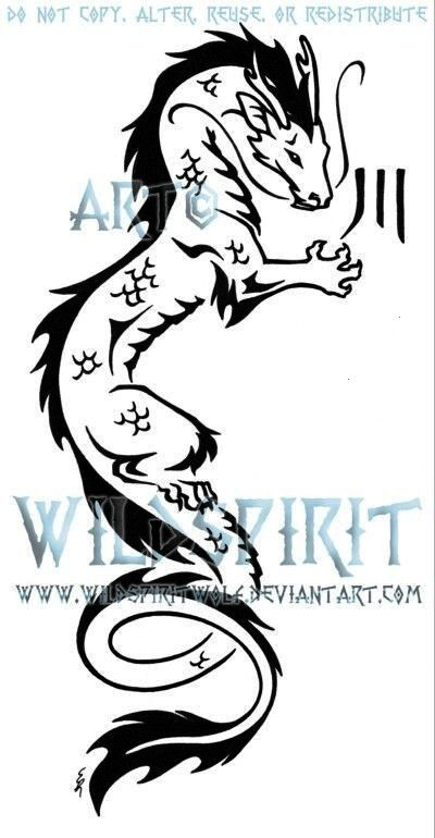 Photo of #tattooforwomenideas #dragontattooformen #tribaldragontattoo #tribal #dragon