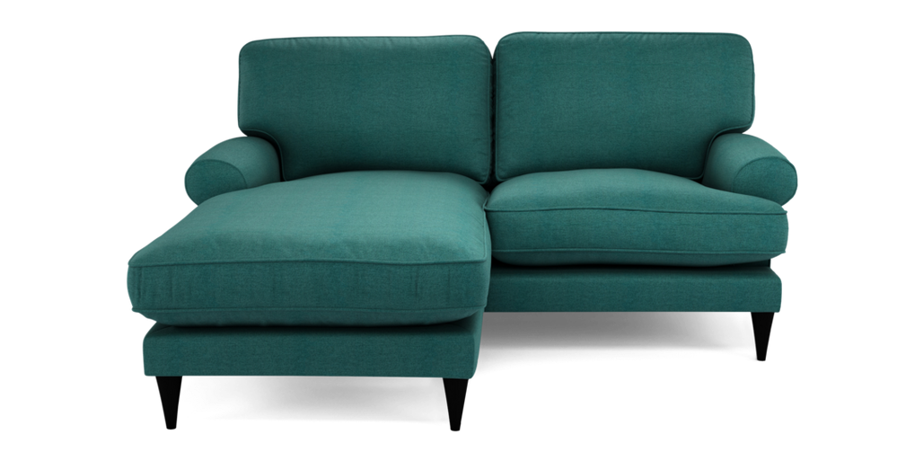 Viv 3 Seater Lounger Simply Wool Look Lounger Seater Fabric Sofa