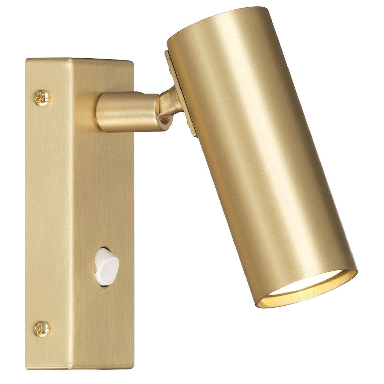 Puck Vägglampa Enkel | Vægbelysning, Væglampe, Sengelamper