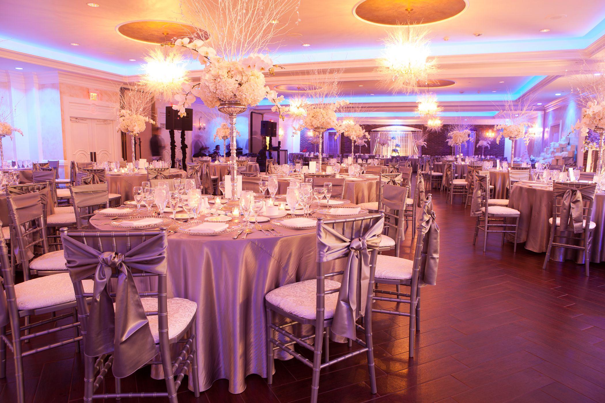 silver winter wonderland wedding blue uplighting event center at backgrounds diy for computer high resolution
