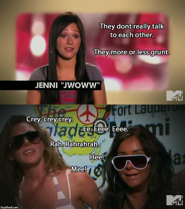 funny jersey shore quotes