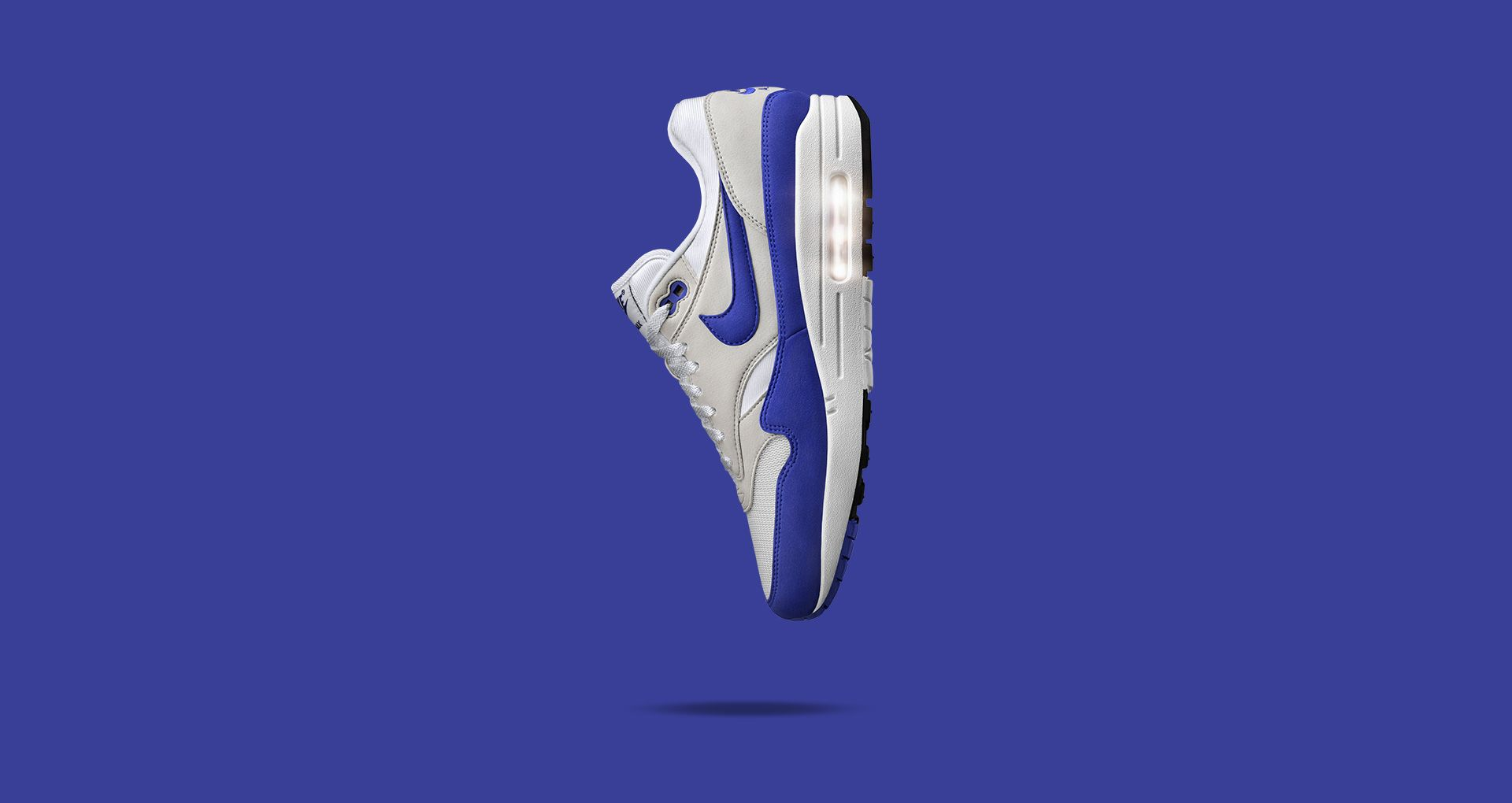 Nike Air Max 1 Anniversary 'White & Neutral Grey & Game
