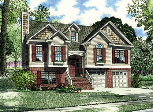 nelson design group | house plans| split foyer plans, may end up
