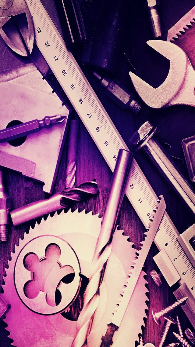 Mechanical Tools IPhone 5s Wallpaper