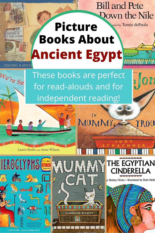 Kids Books About Ancient Egypt Ancient Egypt For Kids Ancient History Homeschool Ancient Egypt Lesson Plans [ 1500 x 1000 Pixel ]