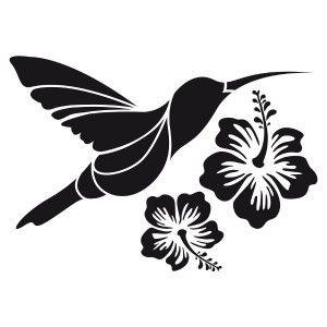 Pochoir imprimer recherche google pochoir - Dessin d hibiscus ...