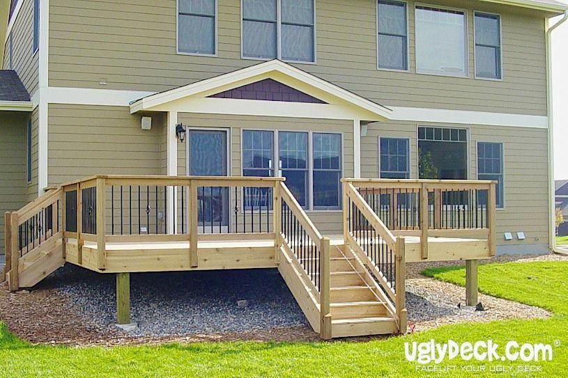 Maintenance free decks add value to a home even though the