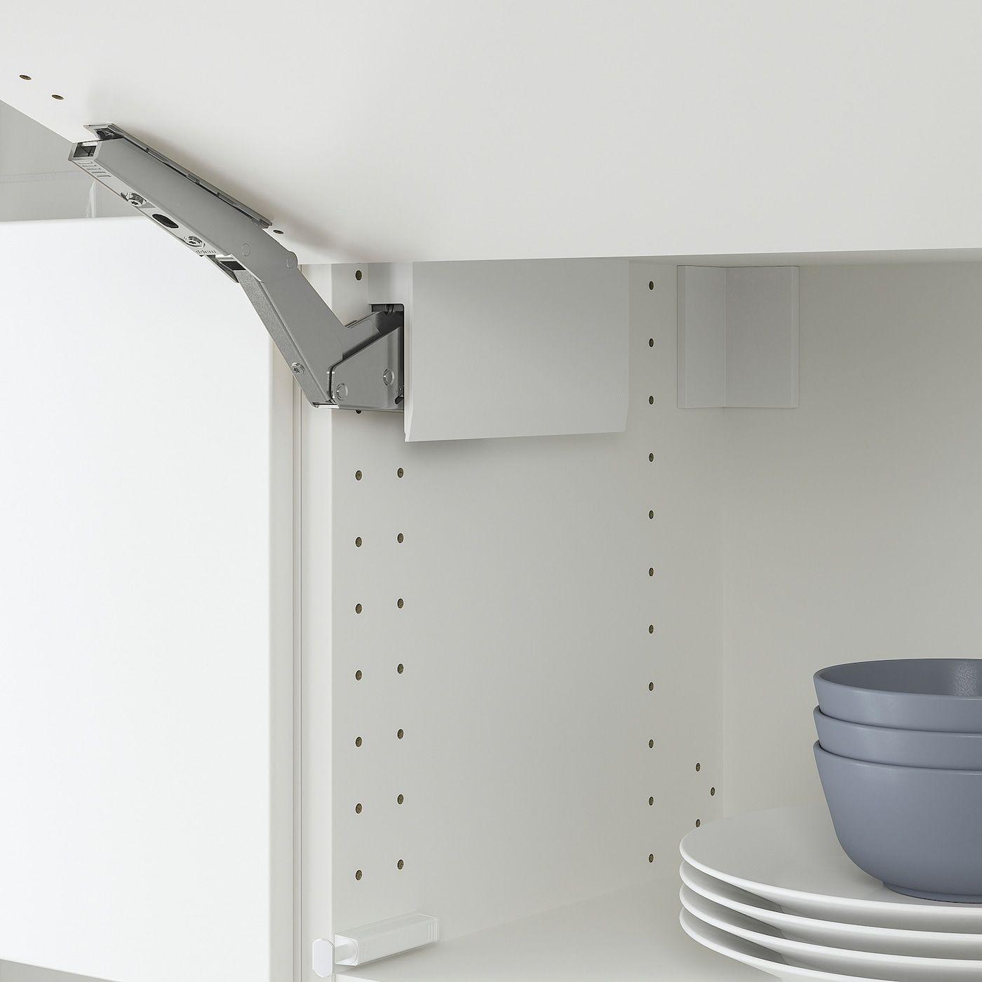 Utrusta Hinge Push Open For Horizontal Door White Ikea In 2020 Ikea Utrusta Ikea Hinges