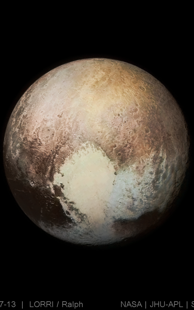 Pluto Has Been Officially Reclassified As A Planet Planets Pluto Major Planets