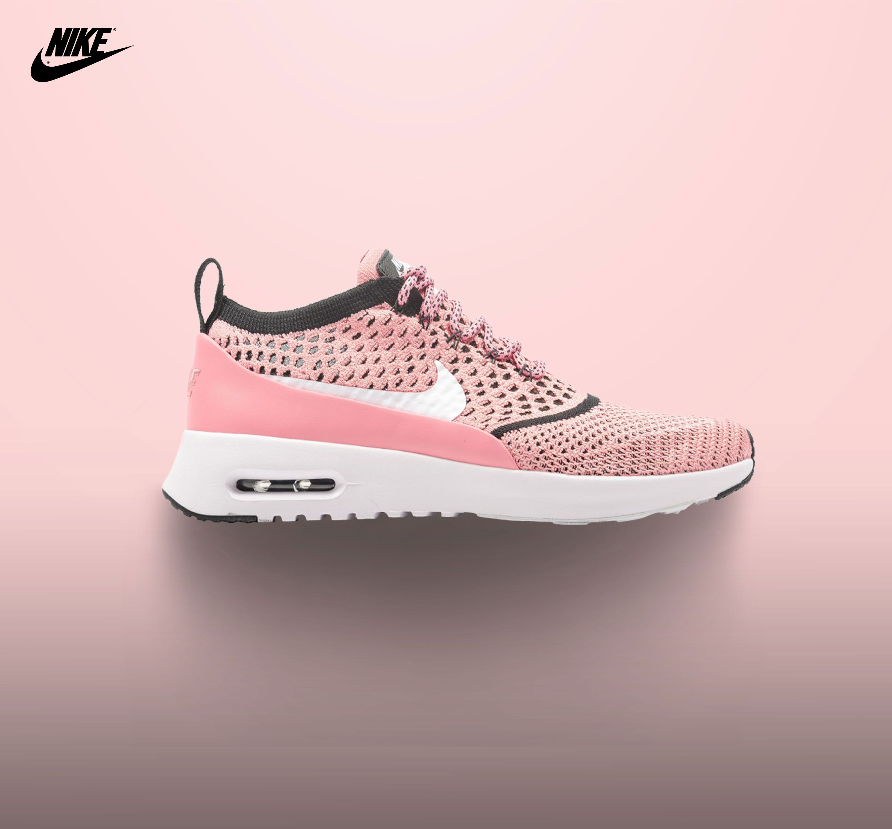 Nike Air Max Thea Pink/White 2017 #pink #sneakers #nike #shoes