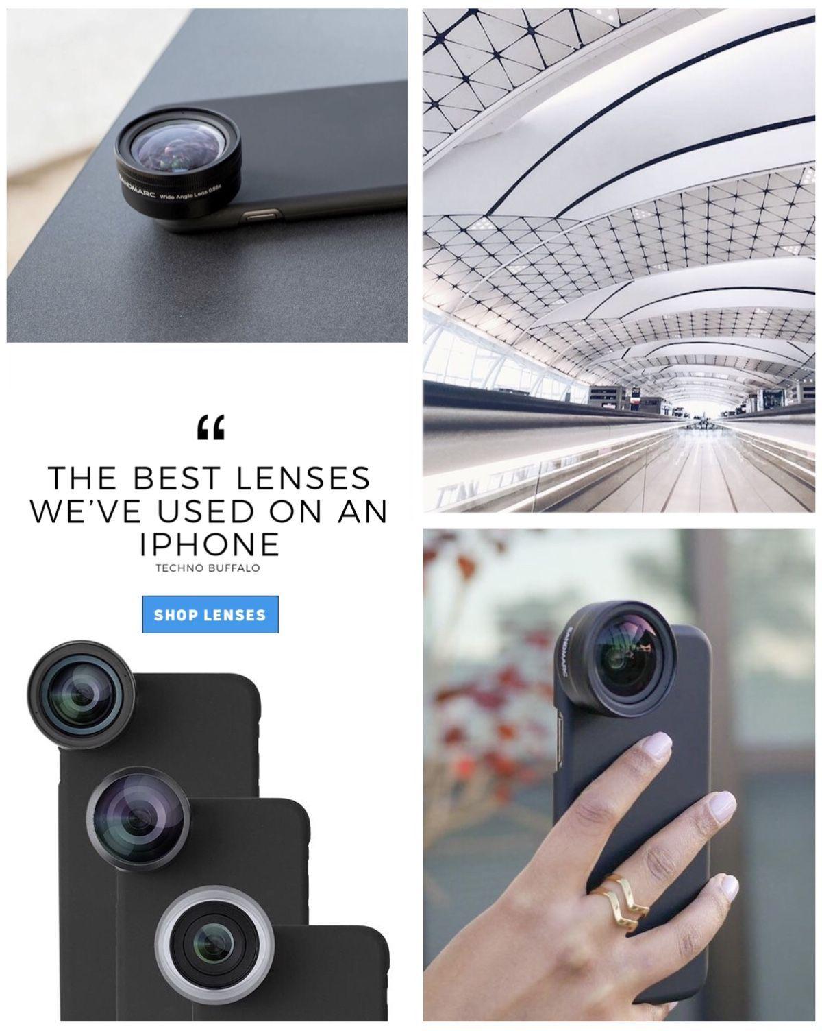Discount Code BRESENTME iPhone camera lens addon lenses