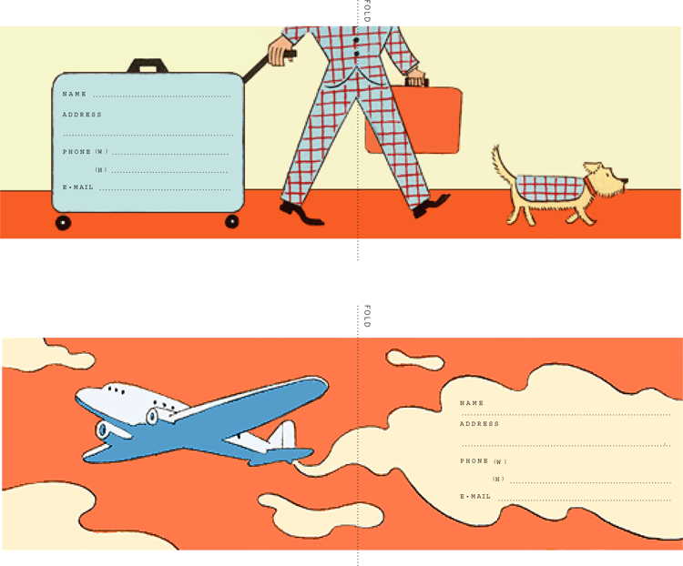 Luggage Tag Template Free Printable Stuff To Make Pinterest - Travel name tag template